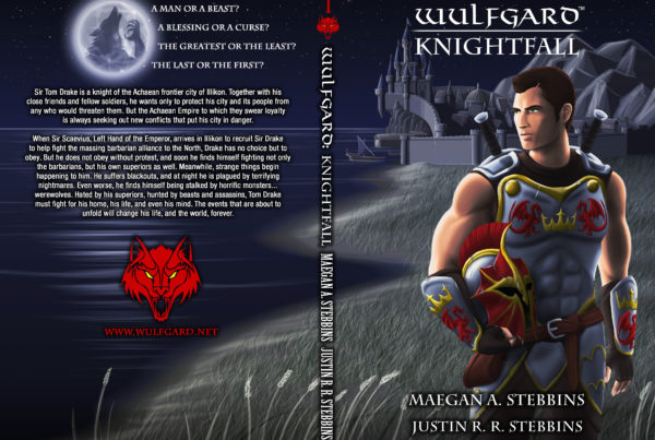 Wulfgard: Knightfall Cover Art, Digital