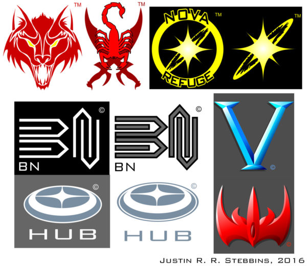 Selection of Logo Graphics, Digital (Corel Draw)