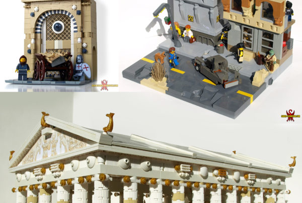 Custom LEGO Creations: Buildings