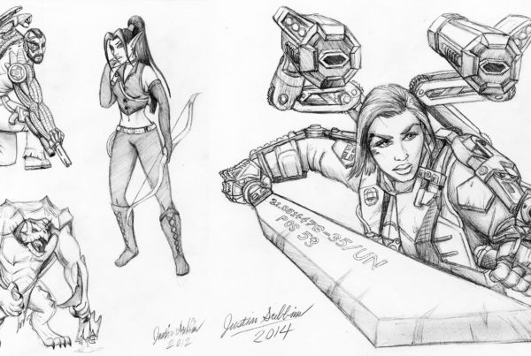 Various Pencil Sketches